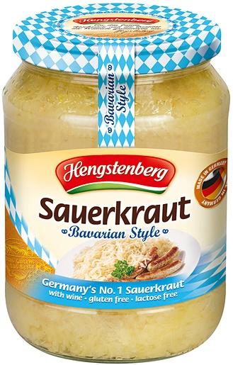 Hengstenberg 350g sauerkraut with wine