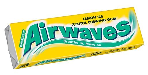 Airwaves 14g Lemon Ice chewing gum