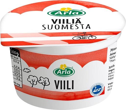 Arla Suomesta curdled milk 200g