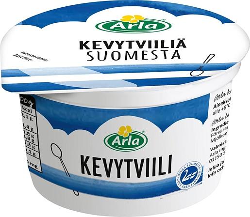 Arla Suomesta light curdled milk 200g