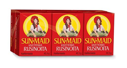 6x42,5g Sun-Maid Kärnfria russin 6-pack små lådor
