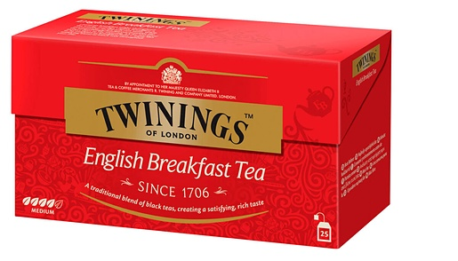 Twinings 25x2g English Breakfast tea