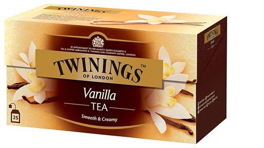 Twinings 25x2g Vanilla tea