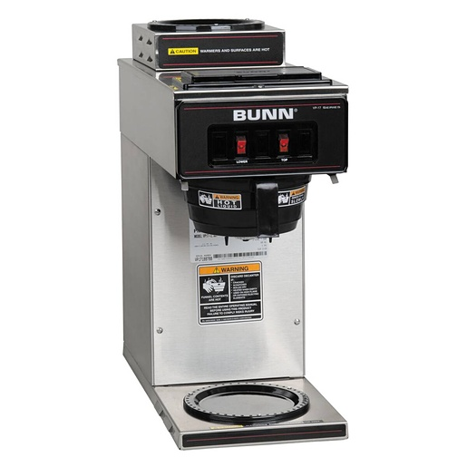 BUNN VP17A-2 COFFEEBREWER WITH 2 HEATING PLATES AND MANUAL WATER FILLING