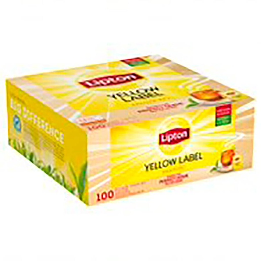 Lipton 1,8gx100pss Yellow Label HoReCa