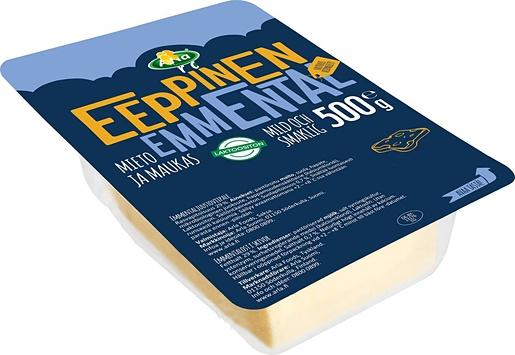 Arla Eeppinen 500g emmental skivor ost