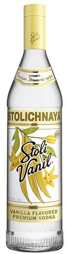 Stolichnaya Vanil Vodka 37,5% 70cl vodka