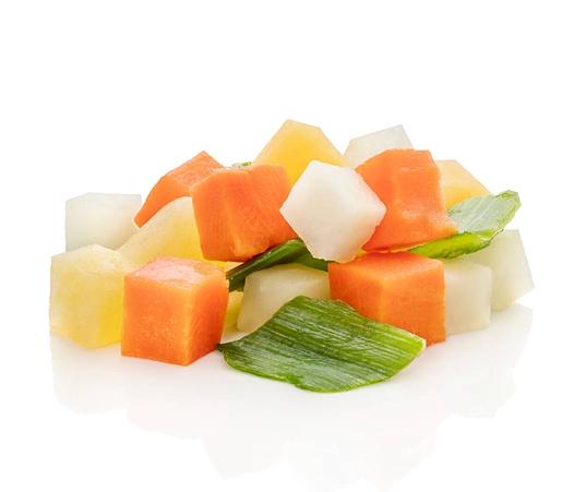 Westfro soup mix without celeriac 2,5kg frozen