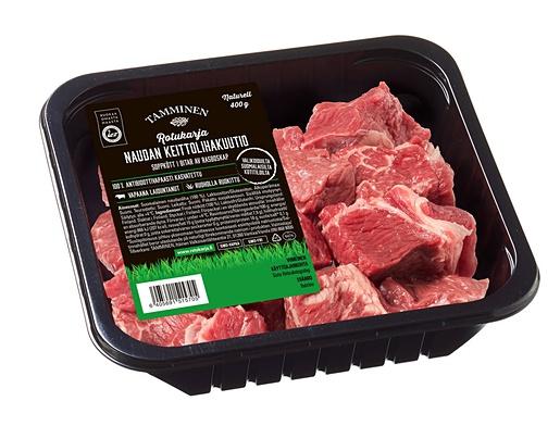 Tamminen beef cubes 400g