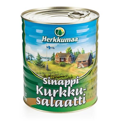 Herkkumaa 3,15 kg Sinappikurkkusalaatti