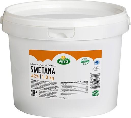 Arla Pro Smetana laktoositon 42% 1,8kg