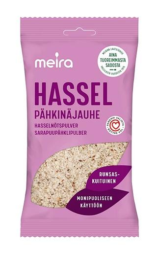 MEIRA HASSELPÄHKINÄJAUHE 70G PUSSI