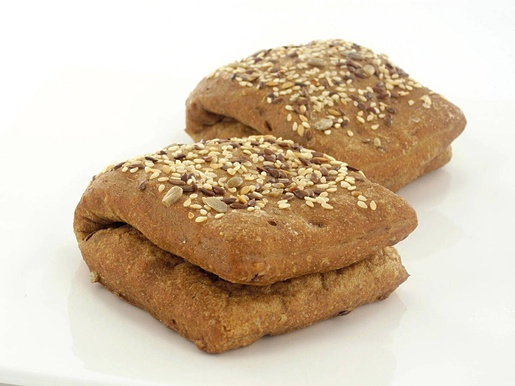 MP Lippa Moniviljasämpylä 30x50g bakedbread roll with crushed grain frozen