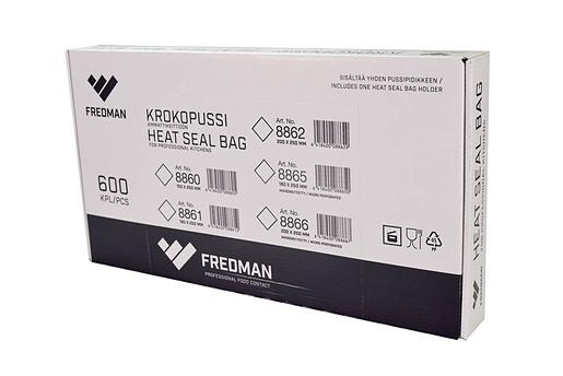 Fredman Krokopussi 180x250mm mikronkestävä 2000 kpl/ltk OPP
