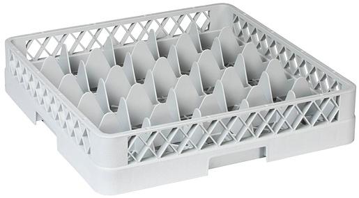 E.Ahlström Glass rack 25 compartments without extender, 49x49x10cm