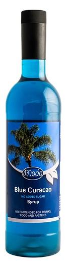 Modo Blue Curacao Low Sugar siirappi 75cl