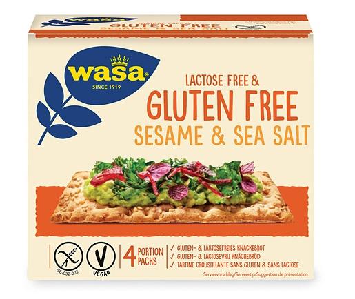 Wasa 240 g sesame & sea salt glutenfree & lactosfree crispbread
