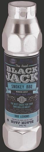 Remia Black Jack Smokey BBQ Maustekastike 800ml