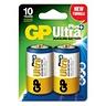 GP ULTRA+ D Alkaliparisto 2kpl