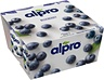 Alpro Fermented soya product blueberry 4x125g