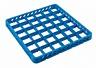 Inox korotusosa 36 lokeroa, sininen, 49x49x4,5cm