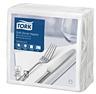 Tork Soft Dinner-lautasliina valkoinen 100kpl/39cm 1/4taitto