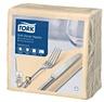 Tork Soft Dinner-lautasliina hiekka 100kpl/39cm 1/4taitto